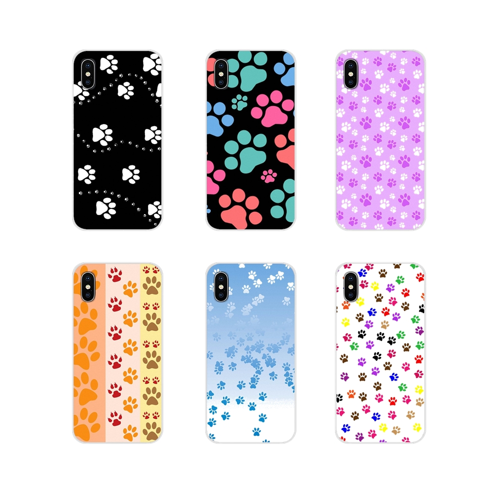 Accessories Phone <font><b>Cases</b></font> Covers For Oneplus 3T 5T 6T <font><b>Nokia</b></font> 2 <font><b>3</b></font> 5 6 8 9 230 3310 2.1 <font><b>3</b></font>.1 5.1 7 Plus 2017 2018 <font><b>Dog</b></font> paw design image