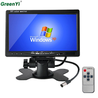 Free Shipping 7 Inch TFT LCD LED Backlight Car RearView Headrest Monitor With 2 Video Input