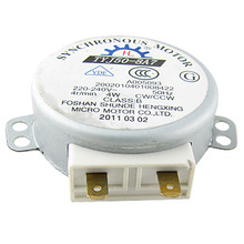 UXCELL High Quality 1Pcs 220-240V  AC 4RPM 4W CW/CCW Microwave Oven Turntable Synchronous Motor