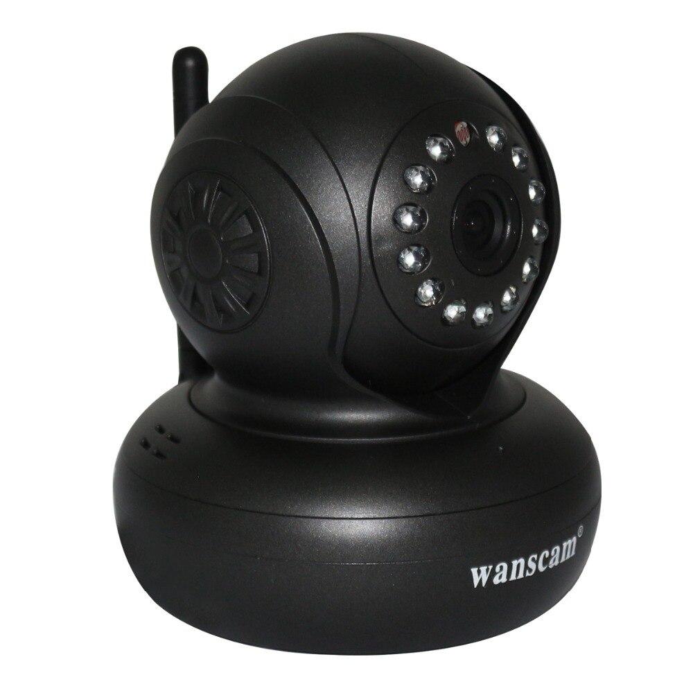 WANSCAN JW0004 Wireless WiFi WPA Network Webcam IP Internet Camera Dual Audio PanTilt Night Vision IR