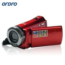 ORDRO DVC DDV-108 720P HD Screen Mini Portable Digital Video Camcorder 16xZoom DV Camera HDMI Video Recorder Output HD Wide Lens