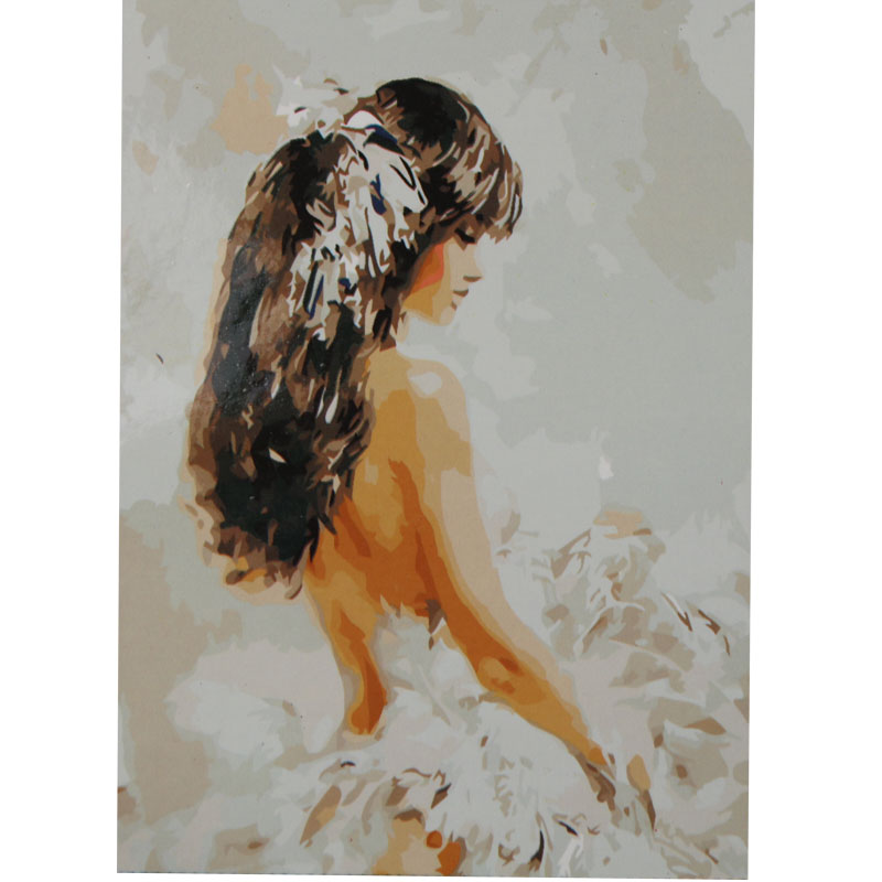 <font><b>Painting</b></font> by Numbers DIY Digital <font><b>Oil</b></font> <font><b>Painting</b></font> <font><b>Nude</b></font> Girl Cuadros Wall Pictures Paint by Number Wall Decor Decorative Pictures