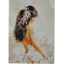 Painting By Numbers DIY Digital Oil Fashion Girl Cuadros Wall Pictures Paint Number Decor Decorative
