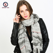 2017 Hot sale women spring autumn 20% wool scarf womens Gradient color shawls Women Wraps brand Scarf scarves MA1603