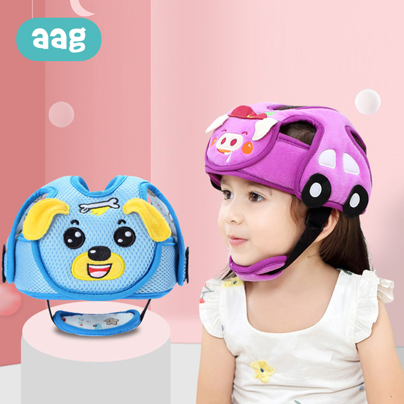 AAG Adjustable Baby Head Protection Pillow Cotton Infant Baby Anti-collision Pad Protective Hat Child Safety Protect Caps 20