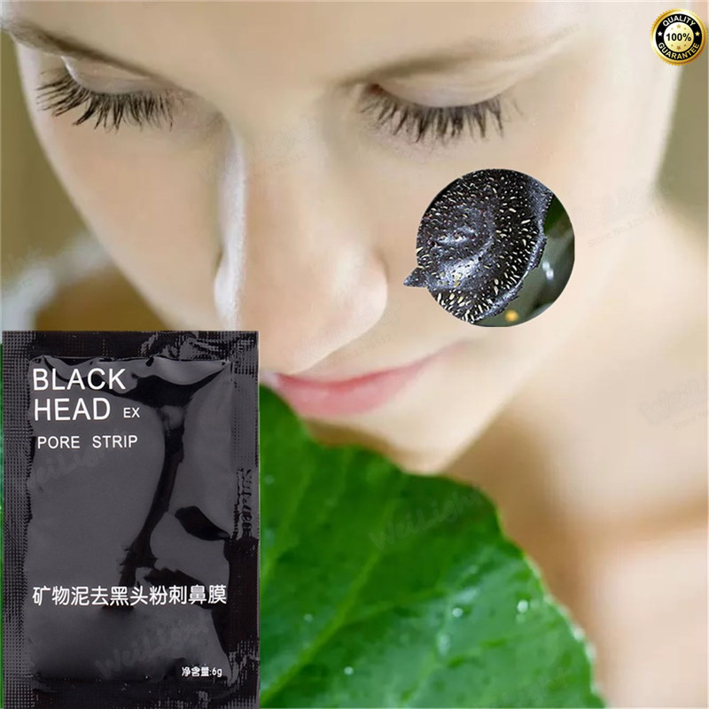 1Pcs Shrink Nose pores Blackhead Suction mask for Deep Cleansing Remove Black Peel Mask Purifying the Black Head Acne Treatments