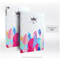 For Apple Ipad Air 2 Ipad 6 Luxury 3D Embossing Case PU Leather Smart Case Cover