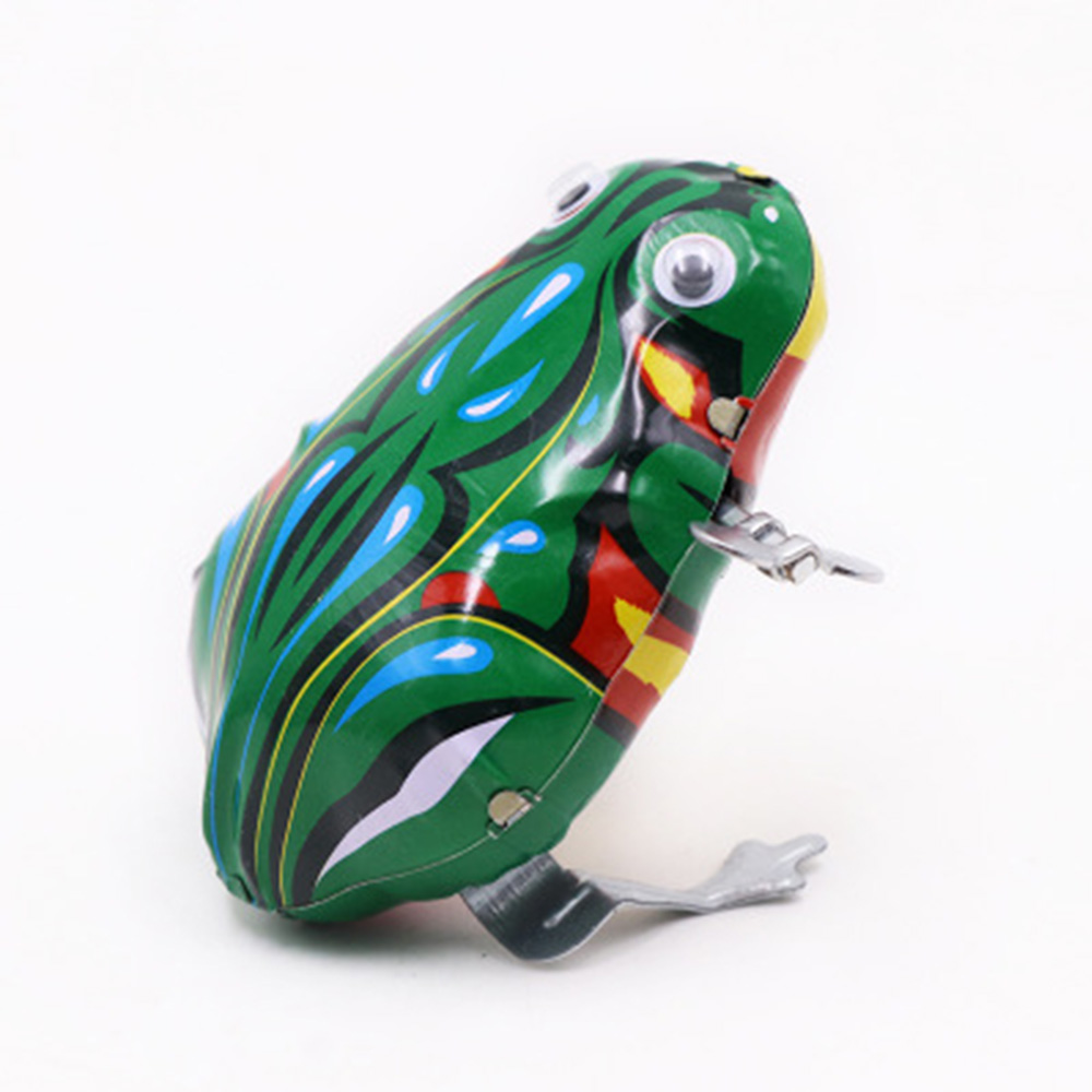 New Metal Frog Clockwork Toy
