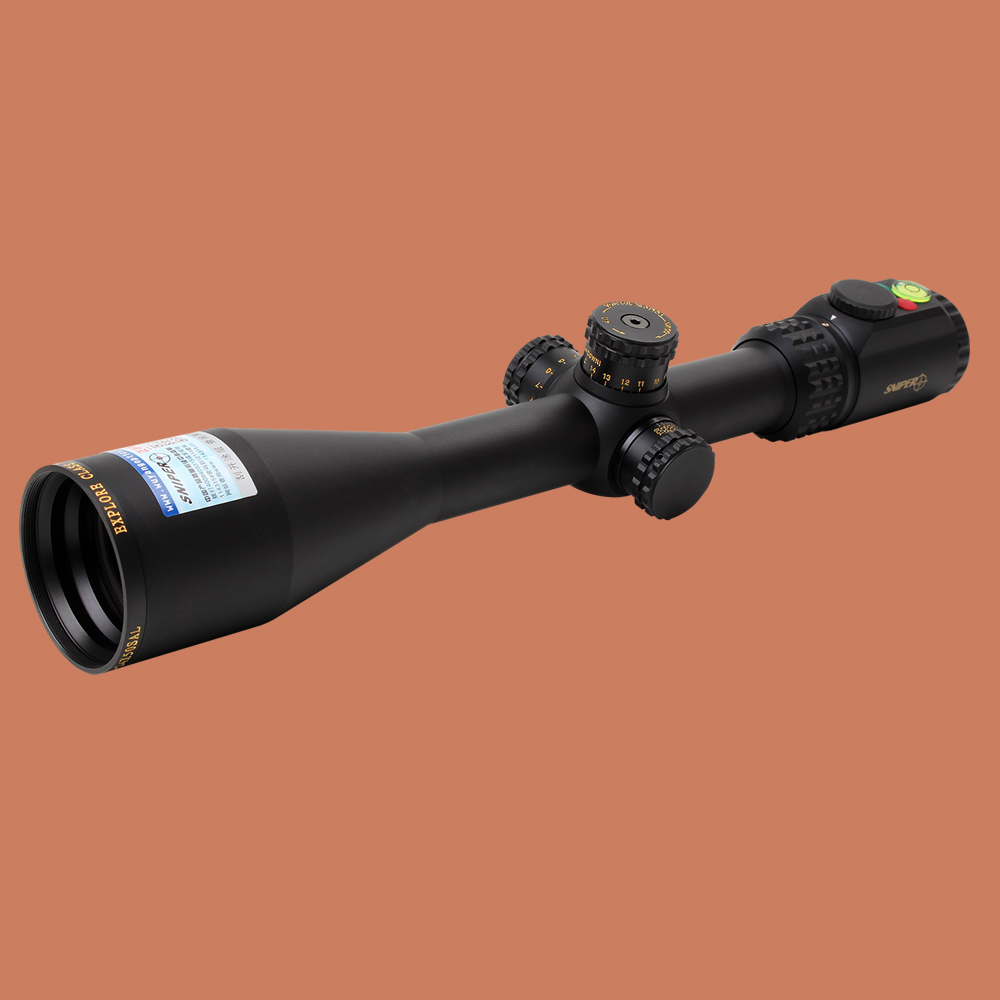 SNIPER WKP 6-24X50 SAL Hunting Side Parallax Adjustment Glass Etched Reticle Red Green Illuminated with Bubble Level Rifle Scope sniper tactical wkp 1 5 6x44sal riflescope glass etched reticle hunting optics sight with rg illuminated with bubble level scope