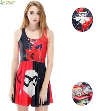 70d68c4984314 Buy harley quinn dress summer and get free shipping on AliExpress.com