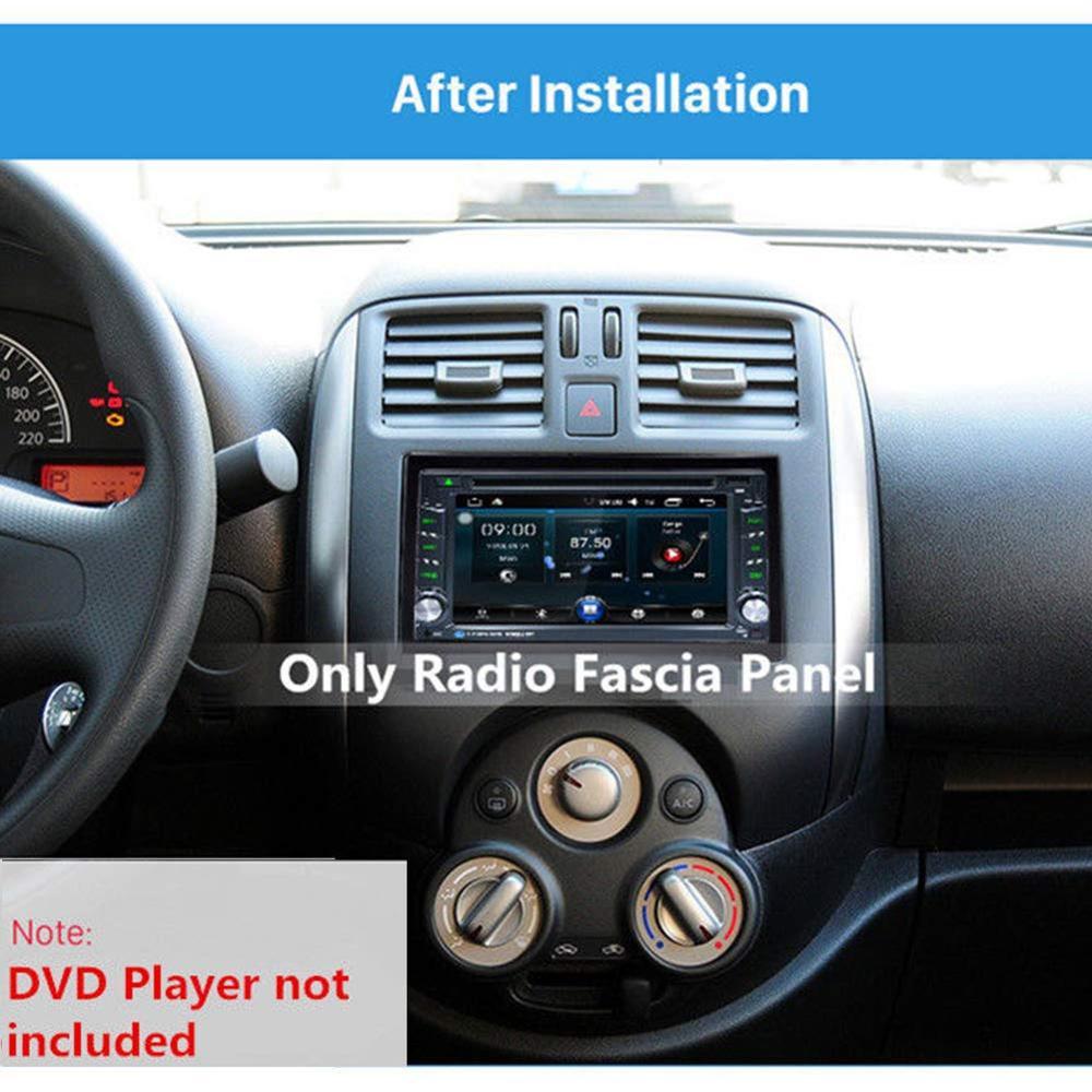 Image 5 - 2Din Fittings Kit Radio Head Unit Installation Frame General 2Din Fittings Kit Automotive Radio Player Box