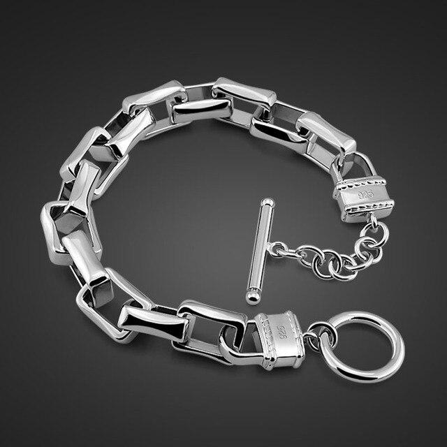 Men's Jewelry 925 Sterling...