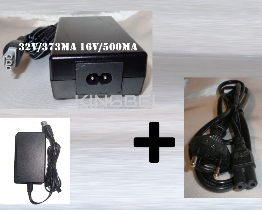 NEW Netzteil printer charger Adapter for HP 0957-2231 20W Deskjet F2180 F2280 1420 D1460 16V/500mA 32V/375mA Power Supply Cable