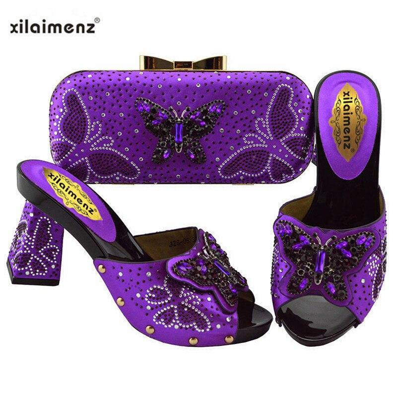 De Mariage D'embrayage purple Sac teal gold fuchsia Et Nigérian Ensemble gold Royal Couleur Femmes Teal Match Partie Italie Assorti Blue À Chaussures qtFEI