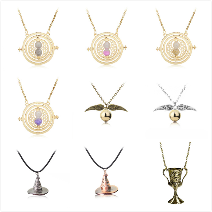 Movie Harri Potter Action Figures Necklace Hermione Golden Snitch Wand Accessories Toys Girls Toys Children Birthday Party Gifts 12pcs set children kids toys gift mini figures toys little pet animal cat dog lps action figures