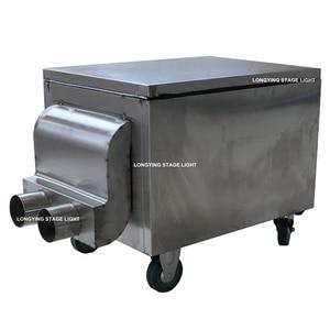 Image 3 - High Grade 3000W Dry Ice Machine Stage Light / Fog Machine/Low Fog Machine Small Size Free Shipping Wedding Video Equipment
