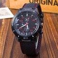 Deportes de la moda del reloj de la Marca de relojes para hombre relojes Militar hombres de Silicona de cuarzo Reloj de Los Hombres Relogio masculino al aire libre