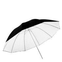 Neewer 59 inches/150 cm Detachable Photography Lighting Umbrella White Convertible Umbrella Removable Black Cover