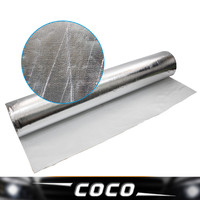 100cm*800cm Aluminium Foil Shield Heat Insulation inflaming retarding Waterproof and mildew proof ceiling roof wall floor