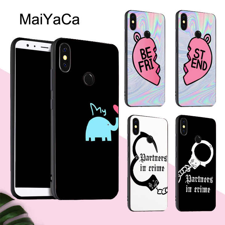 new style 95cf2 dd853 Detail Feedback Questions about MaiYaCa Lovers Best Friends Case For ...