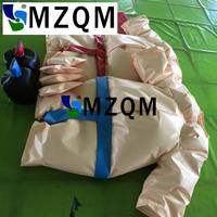 MZQM free shipping Kids or adults sumo wrestling suits fighting pvc partaulin inflatable sumo wrestling suits for sale
