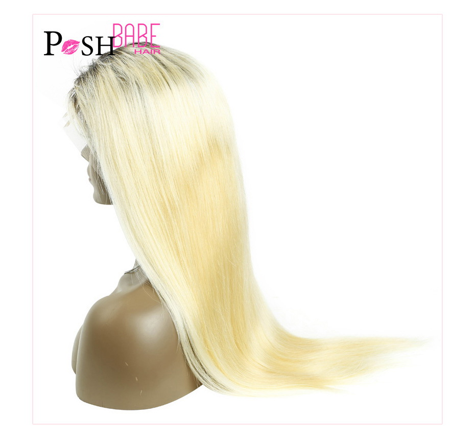 Blonde Lace Front Human Hair Wig (12)