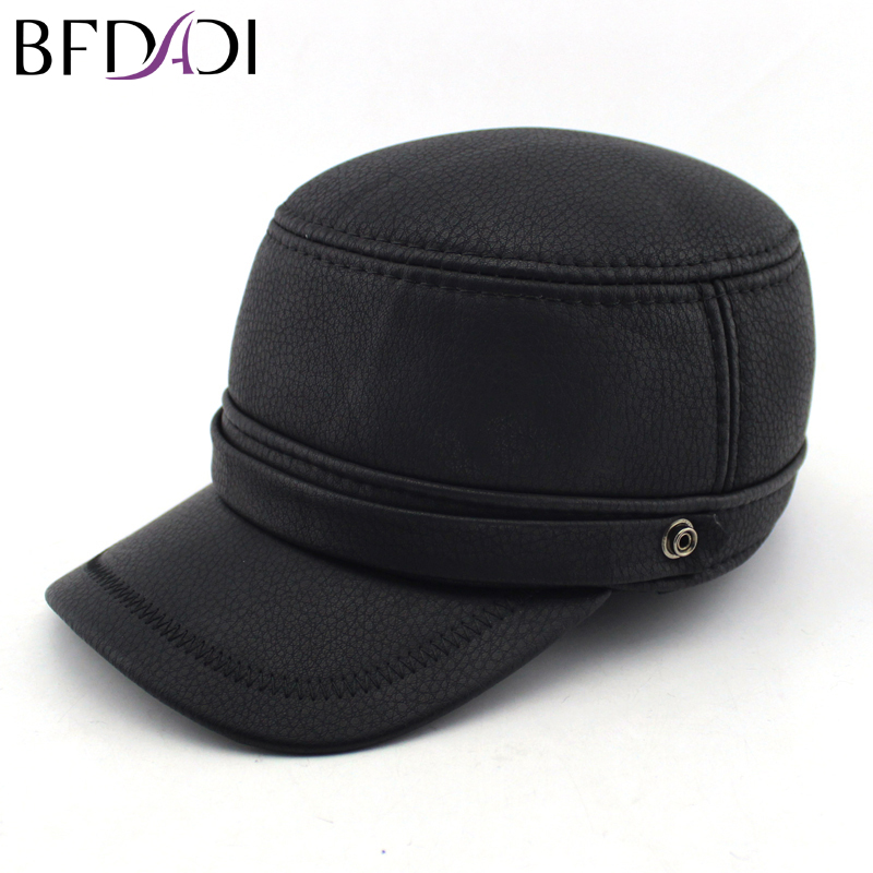 7a1a60d8c8e Aliexpress.com   Buy BFDADI 2018 Quality Hat For Men Simple Comfortable  Lether Peak Baseball Cap Spring Snapback Hat Free Shipping Free Shipping  from ...