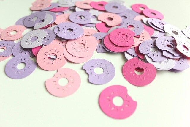 Confetti-Polvilha Confetti Confetti-Brunch-Rosquinha Donut Party Decor-Party Decor-Confete Polvilha Decoração Do Partido