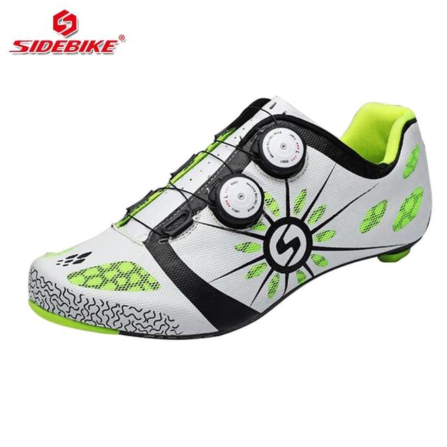 41bffbc94e247 Sidebike carbonio scarpe da ciclismo uomini bici da strada da corsa professionale  scarpe da ginnastica bicicletta