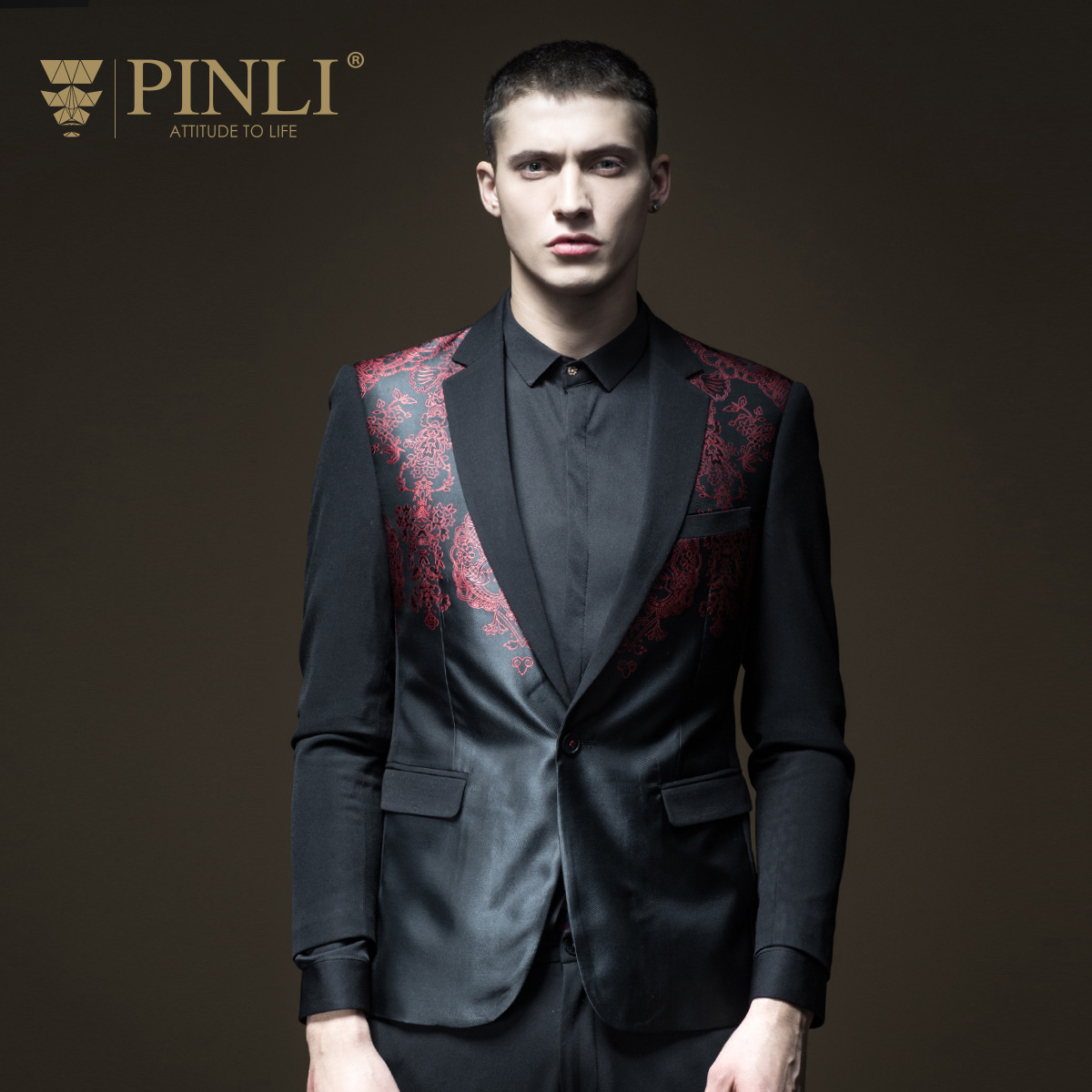 Blazer Masculino Hombre Mens Pinli Product Erect English Gentry Spring Men's Clothes And Western Dress Coats Coat B181106020