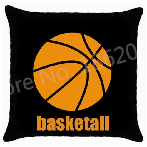 Novelty Basketball Throw Pillows Case Basketball Decorative Cushions Gorgeous Decorative Sports Pillows
