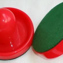 """1 шт. красный 96 мм 3-3/"""" Воздушный хоккейный стол толкатель Mallets Войлок GoalieS puck 77 высокое качество"""