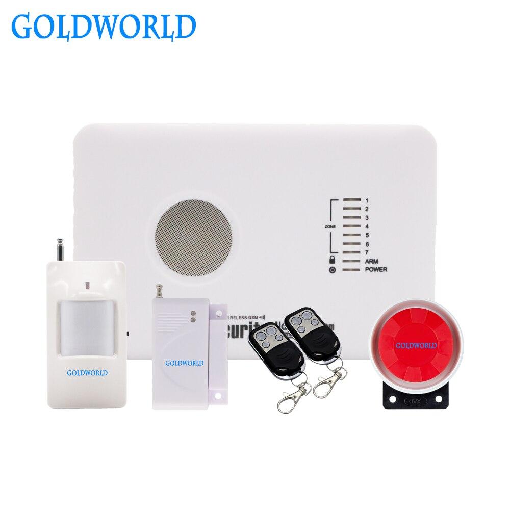 Система сигнализации APP Smarts, беспроводная домашняя охранная сигнализация с поддержкой GSM, русская, английская, испанская, польская