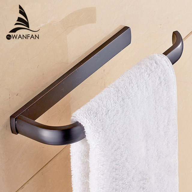 towel rings 5 colors solid brass toilet paper holder hanger storage shelf towel rail wall bathroom - Bathroom Accessories Towel Rail