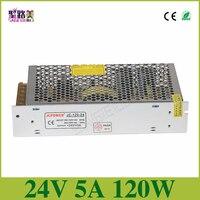 Uniwersalny Regulowany Zasilacz transformator elektroniczny, wyjście 5A DC24V 120 w, wejście 110 v-220 v sterownik, CCTV ZASILACZA taśmy LED