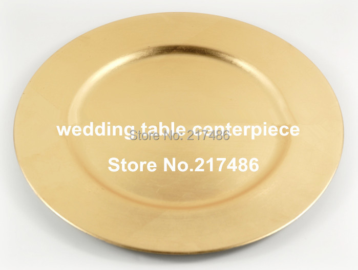 111free shipping  500 pcs one lot gold plastics chareger plate  charger tray  & 111free shipping  500 pcs one lot gold plastics chareger plate ...