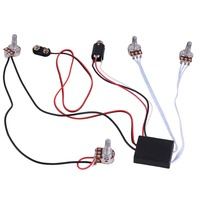 Acoustic Guitar Strap Endpin 6 35 Output Jack Socket and 3 Pin Plug for  Pickup Equalizer Preamp 50cm cable
