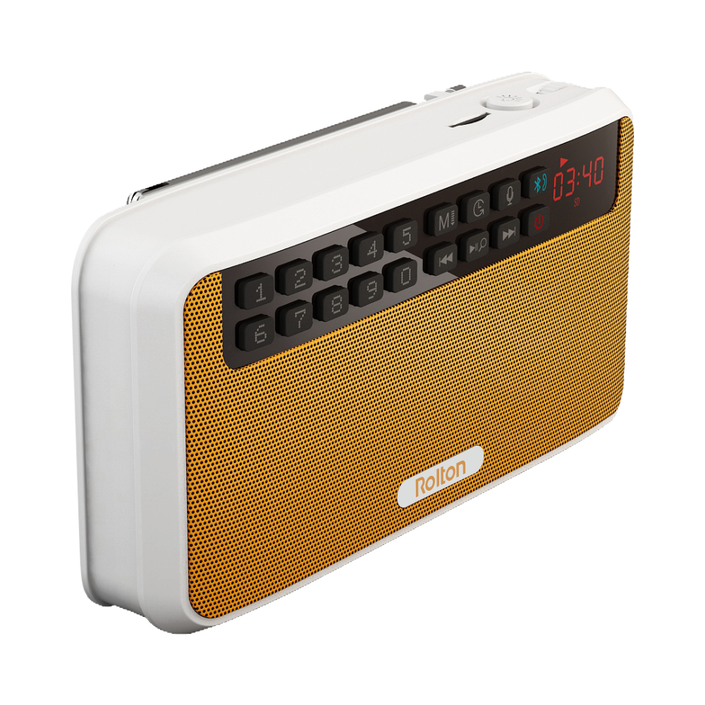 Rolton E500 Φορητά στερεοφωνικά ηχεία - Φορητό ήχο και βίντεο - Φωτογραφία 3