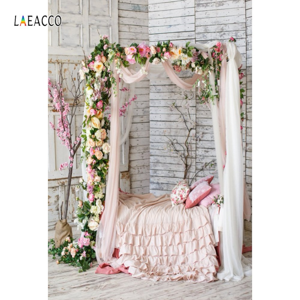 Photo Backgrounds Old Gray White Wooden Wall Wedding Flower