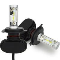 2Pcs H4 H11 H7 H13 9005 9006 LED Car Headlight Bulbs All In One 50W 8000lm