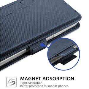 Image 5 - ل UMIDIGI A7 برو A5 برو حافظة محفظة جلدية فاخرة الوجه حامل صدمات غطاء مع مرآة ل UMIDIGI A3X حامل بطاقة حافظة