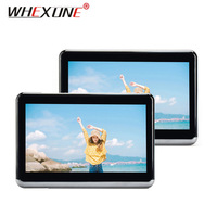 WHEXUNE 2PCS 10.1 Inch Car Headrest Monitor Android 6.0 DVD Player HD 1080P Video With WIFI/HDMI/USB/SD/Bluetooth/FM Transmitter