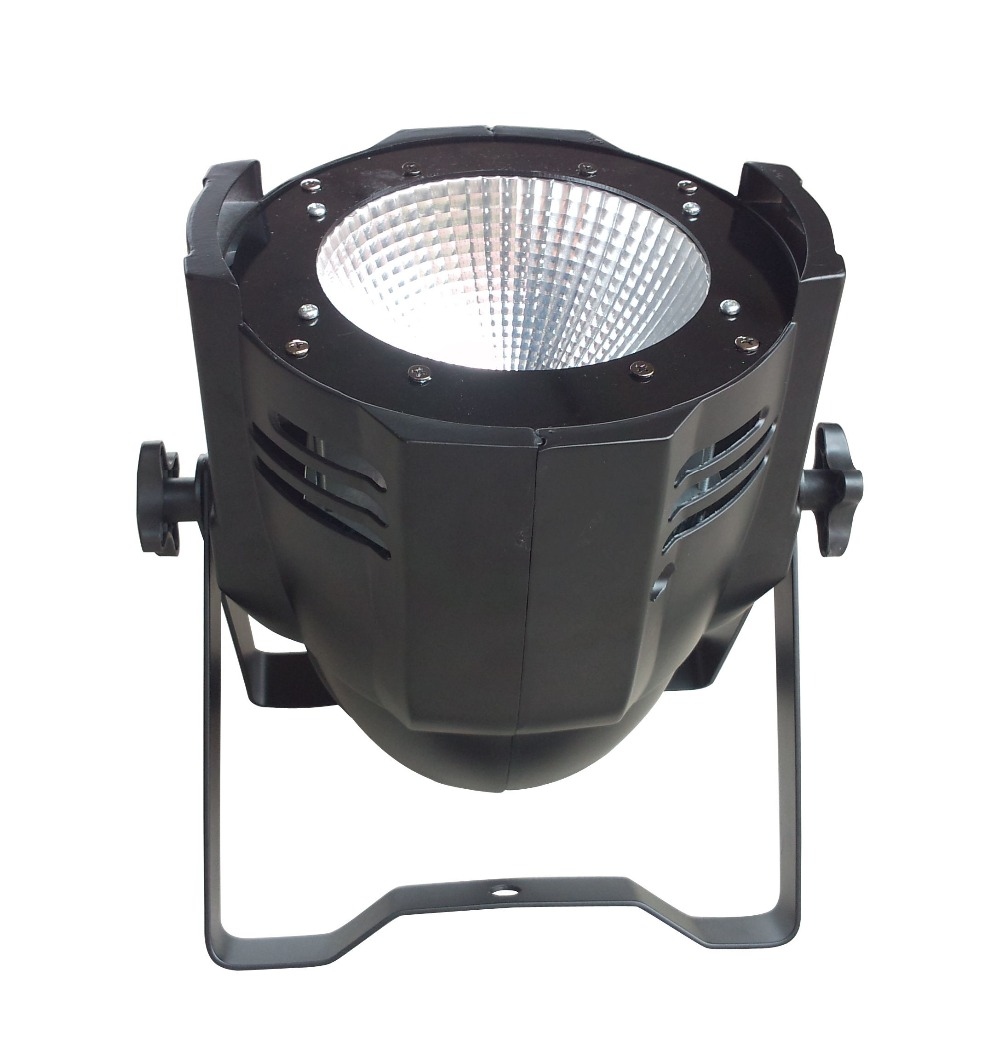 high power Aluminum housing 100w led par light cob led stage lighting white color led disco dmx lights dmx wash par can 4pcs lot 100w cob led par can 4in1 rgbw color dmx 100w cob led par led dmx wash stage light ktv dj disco lighting free shipping