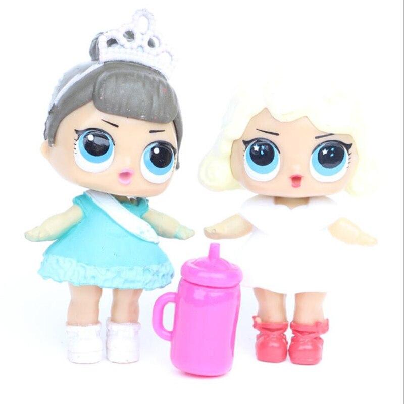 6 unids / lote LoL Desembalaje Muñecas de alta calidad Lol Dolls - Muñecas y accesorios - foto 2