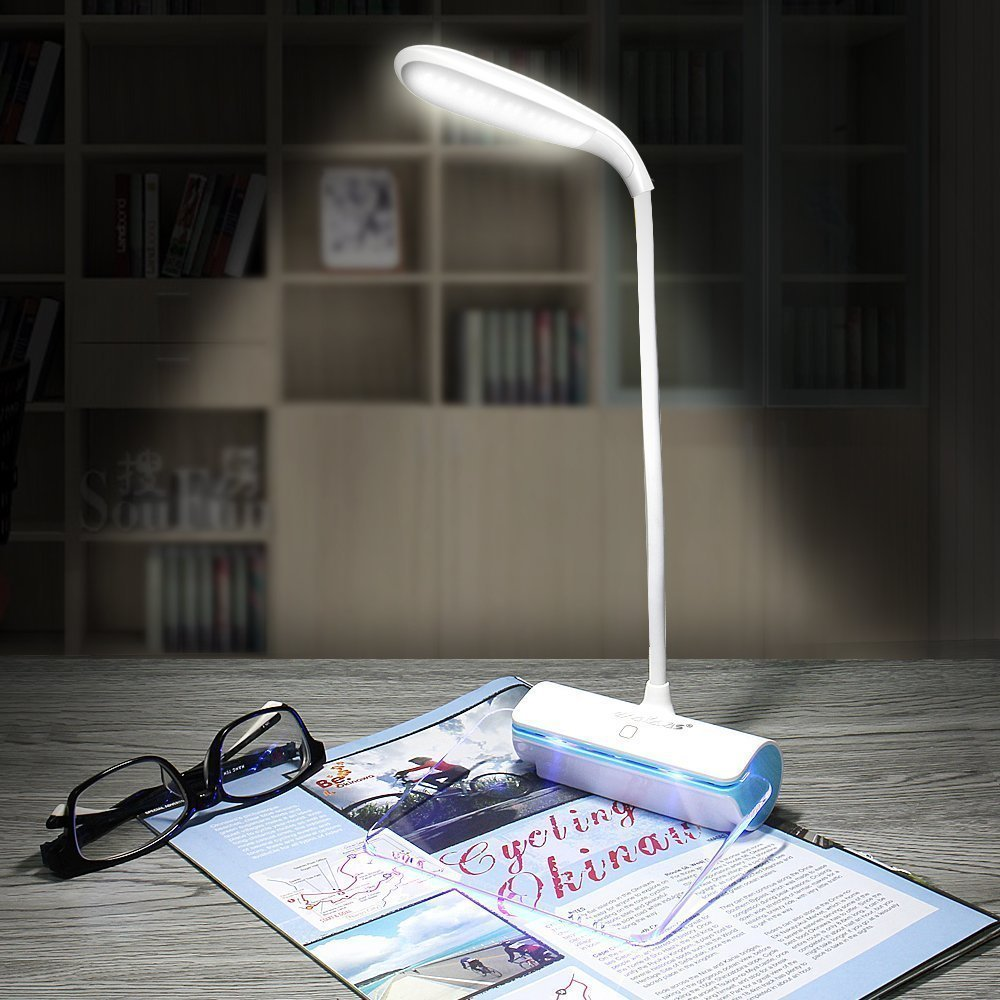Rechargeable Desk Lamp DC 5V USB LED Light With Message Board Touch Switch Table Luminaria De Mesa Gift For Kids Room Reading
