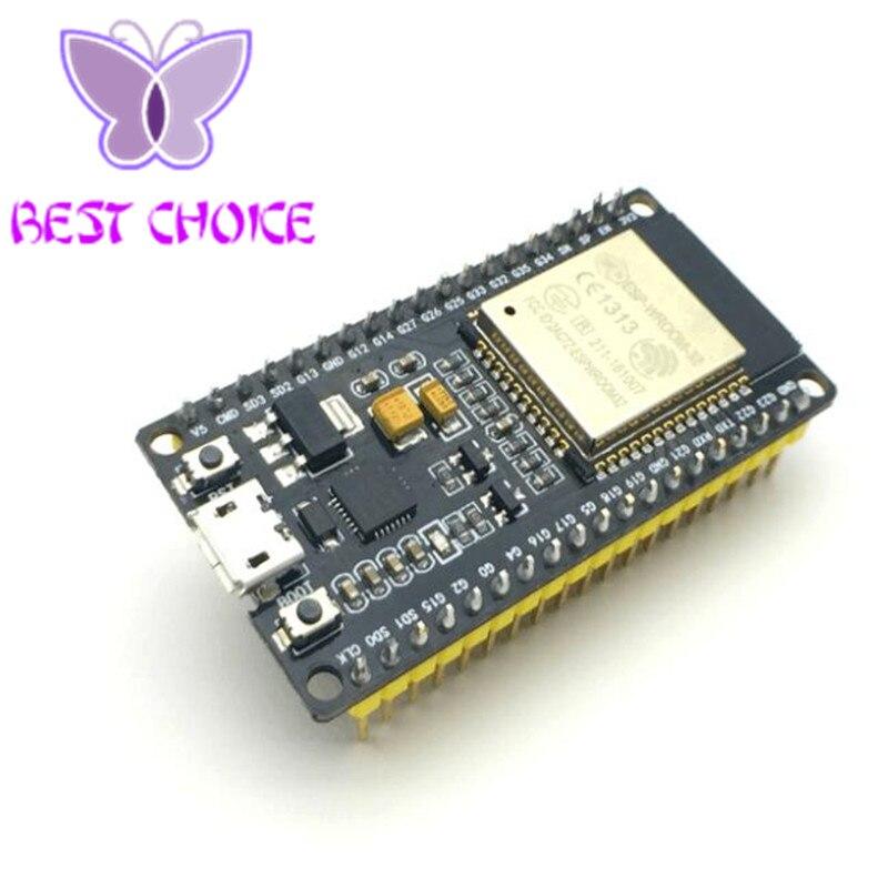 5PCS Official DOIT ESP32 Development Board WiFi Bluetooth Ultra Low Power Consumption Dual Core ESP 32S