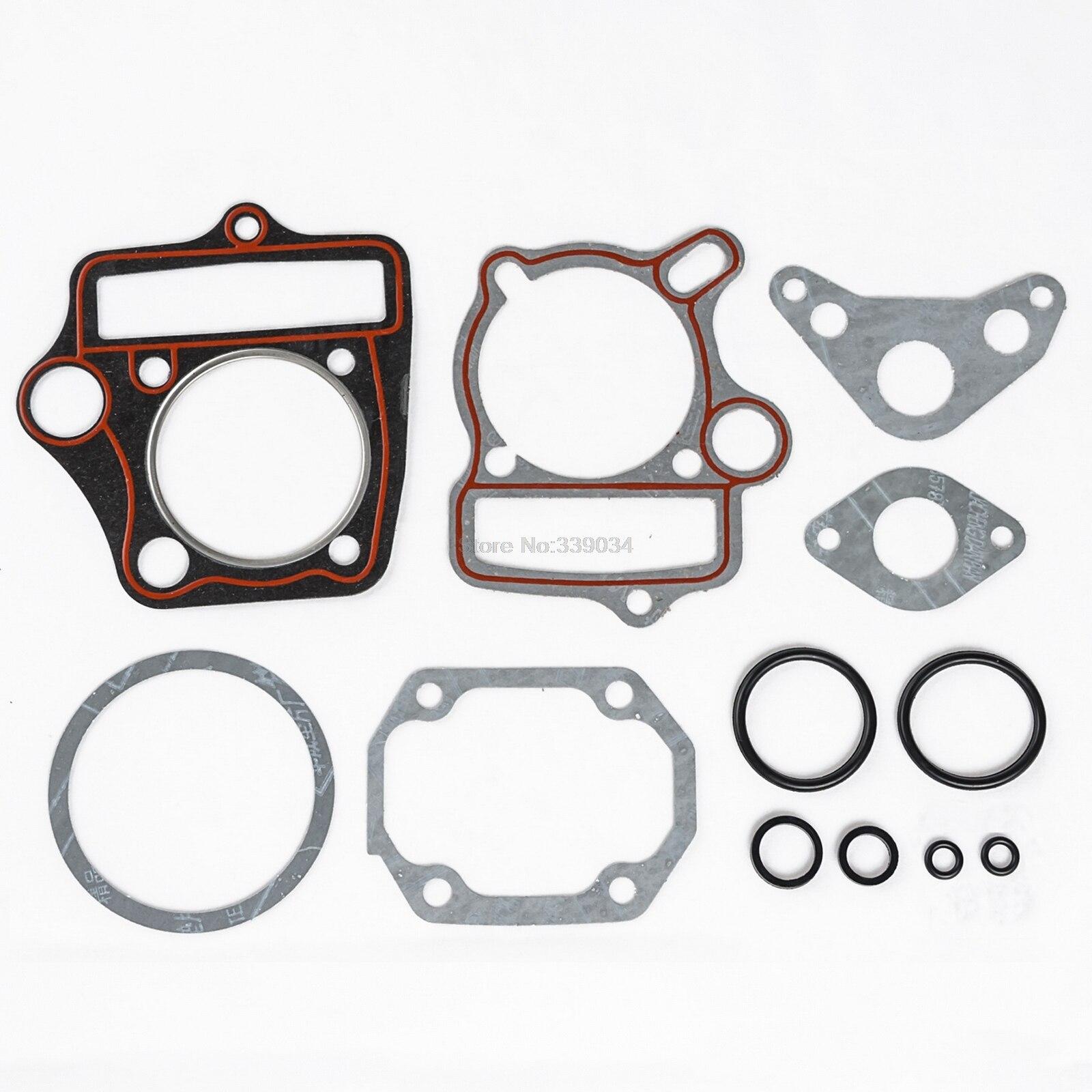 Horizontal Engine Cylinder New complete Gasket for 110cc ATV Dirt Bike Go Kart