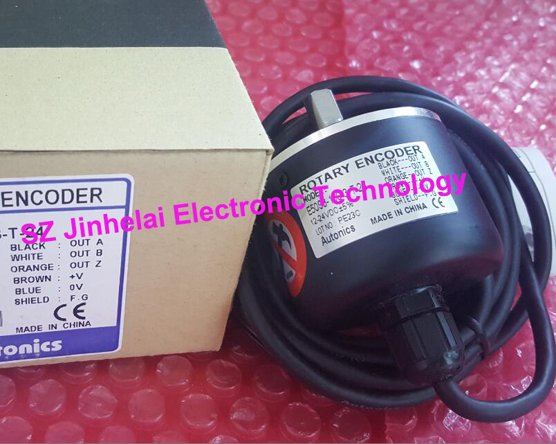 100% New and original  E50S8-60-3-T-24  Autonics  ENCODER 100% new and original e50s8 360 3 n 24 e50s8 60 3 t 24 autonics incremental rotary encoder