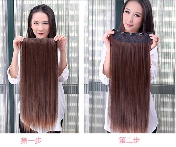 Extension cheveux naturel a clips pas cher