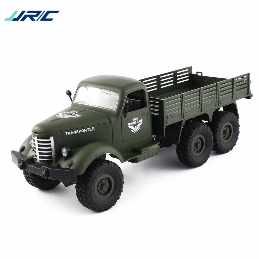 Jjr/c Q60 1/16 2,4g 6wd Rc Off-road Military Lkw Transporter Rc Auto Fernbedienung Fahrzeug Für Kinder Geschenk Kinder Spielzeug Hz Fernbedienung Spielzeug